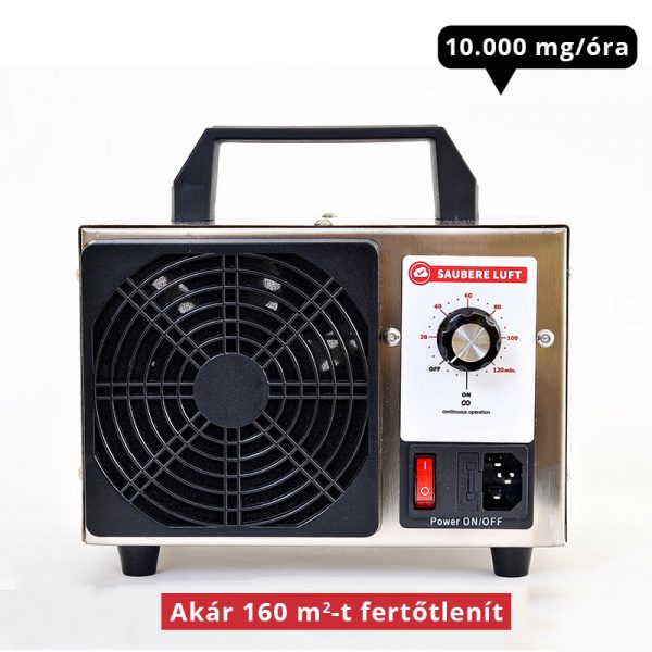 Saubere Luft Ózongenerátor 10000 mg/óra