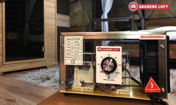 Saubere Luft Ózongenerátor 20 000 mg/óra – HF298